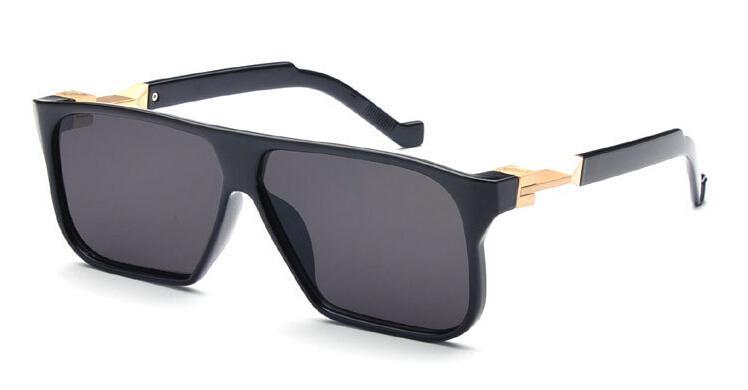 2015 Vava CD Flat top Lenses Future Sunglasses Men shades Points Sunglass Women Brand Designer Channel Square Sport Sun Glasses(China (Mainland))