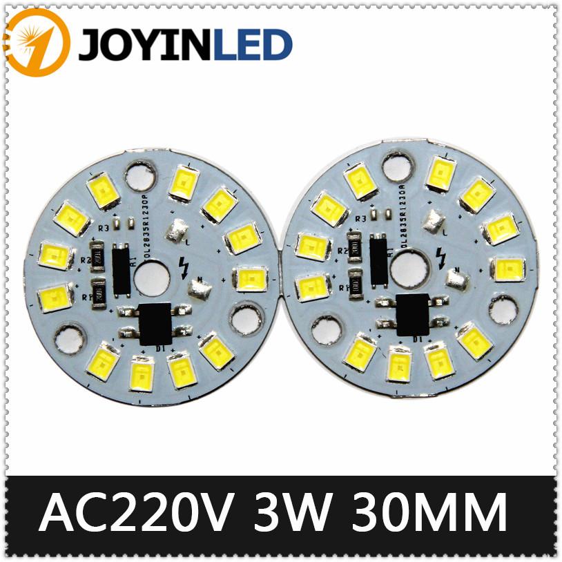 3w Dimmable led bulb lamps integrated Driver 2835 smd led PCB 350mA warm white for led bulb 2835 smd led datasheet DIY(China (Mainland))