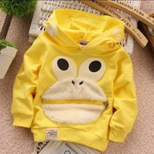 2015 Spring And Summer Kids Moletons Cotton Children Hoodies Boys And Girls Cute Cartoon Pattern Moleton Infantil Sweatshirts(China (Mainland))