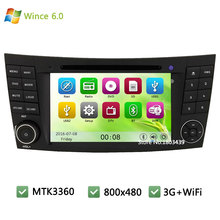 MTK MT3360 Wince 6.0 Car DVD Player Radio Audio Stereo Screen GPS For Benz E Class W211 CLK W209 CLS W219 W463 Support 3G WIFI