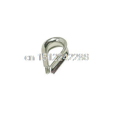 5PCS Stainless Steel Wire Rope Cable Thimble Galvanized For Wire Rope Cable M12(China (Mainland))