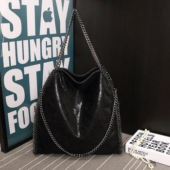 New 2015 Women Handbags PU Leather Fashion Original Design Portable Shoulder Bags Chain Woven Messenger Bags Free Shipping