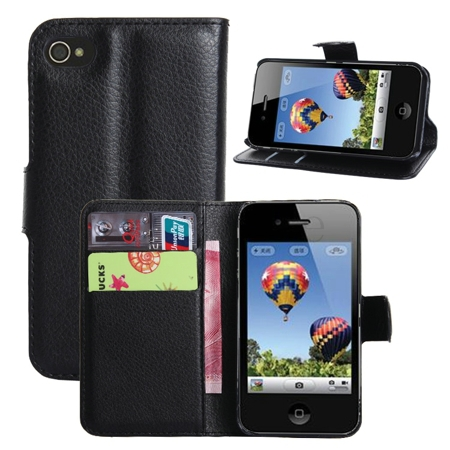 Colorful Pouch Flip Leather Hard Skin Case full protect Cover iPhone 4 4S Case accessories Mobile Phone Cases(China (Mainland))