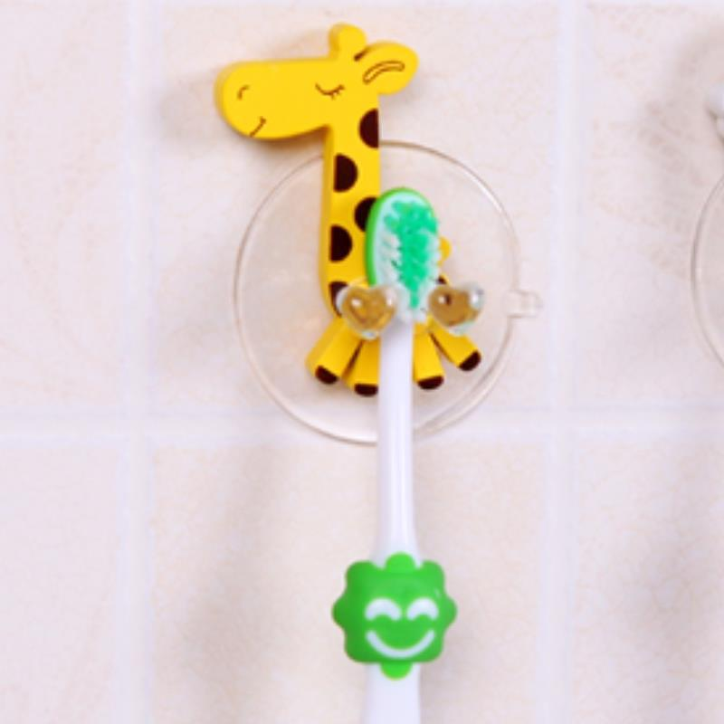 Bathroom accessories shelf cute giraffe portable powerful for Cute bath accessories