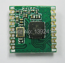 FSK module RFM69CW 13dBm transceiver module, pin to pin compatible to RFM12B, 433/868/915mhz can be selected(China (Mainland))