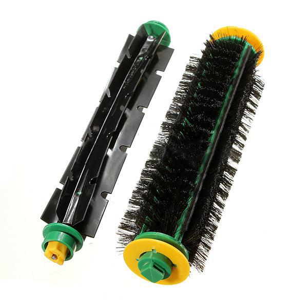NFLC Wholesale 5pcs/lot Bristle Brush + Flexible Beater Brush For iRobot Roomba Clean(China (Mainland))