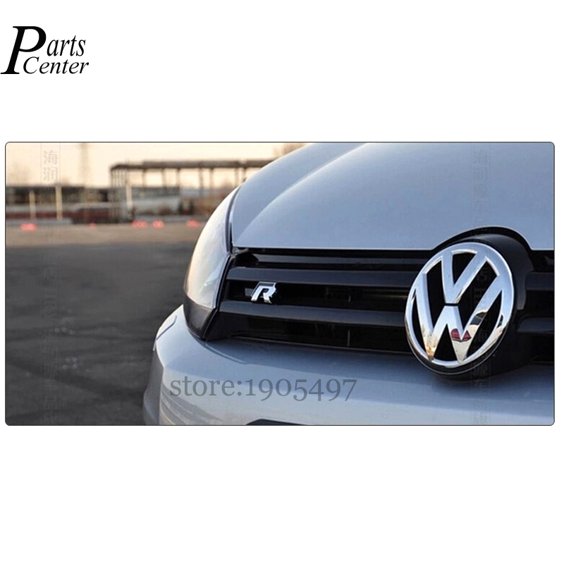 Front Car door 3D Badge Emblem Decal Sticker logo styling For R Line Rline VW Golf 6 7 GTI Jetta Passat Tiguan(China (Mainland))