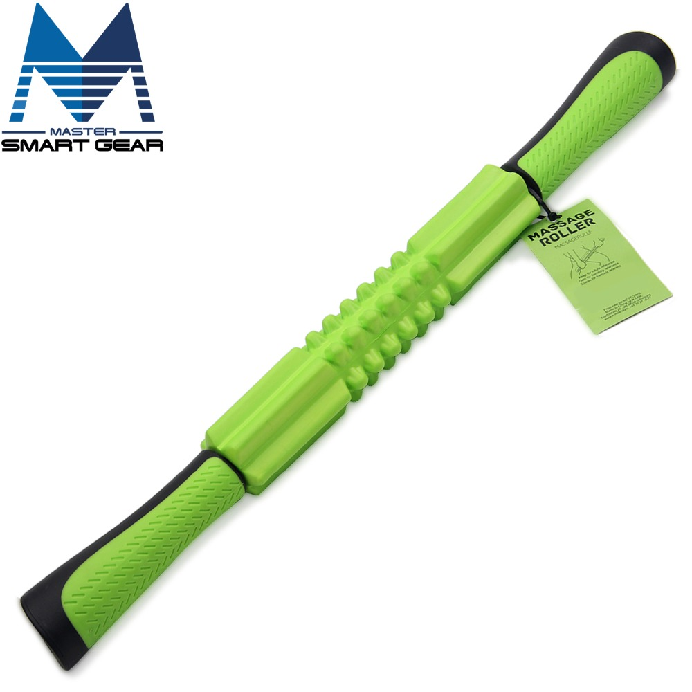 21 inch Massager Roller Stick Exercise Roller Leg Body Arm Back Shoulder Muscle Massager Stick Fitness Lose Weight Handheld Foam(China (Mainland))