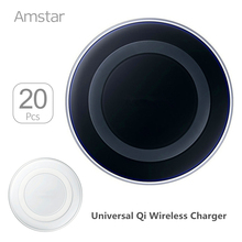 Buy 20pcs/lots Universal Qi Wireless Charger Charging Pad Phone USB Charger + Wireless Receiver Coil Pad iPhone Android Phone for $105.00 in AliExpress store