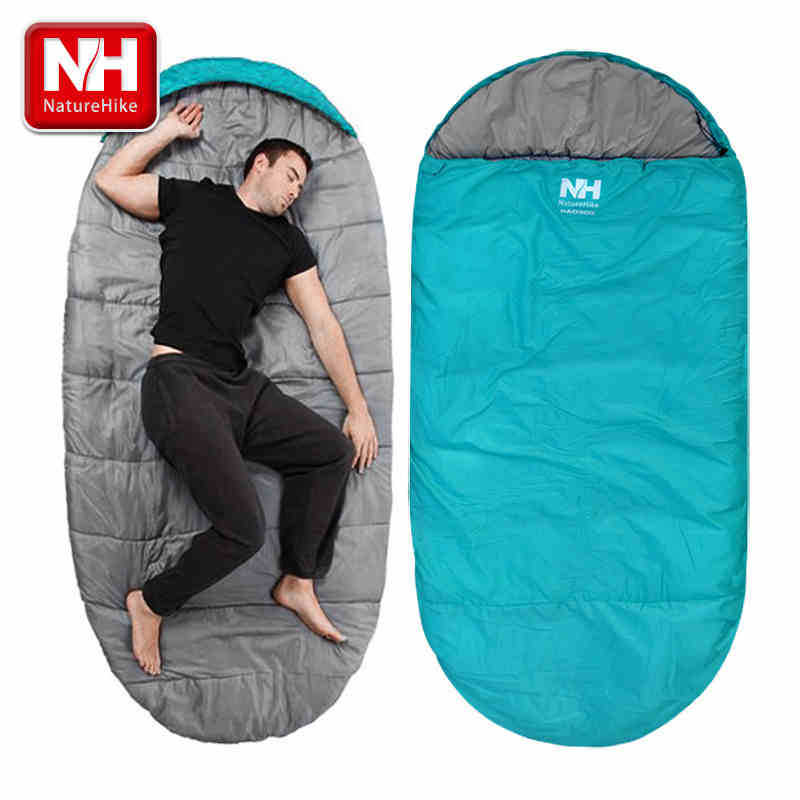 2.3*1m Double layer camping thickening lock sleeping bag adult sleeping bag winter outdoor ultra-light sleeping bag-NatureHike