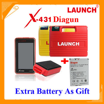 Latest 2015.4 version Launch X431 Diagun diagnostic tool 120 Software Full Set + extra battery as gift Lifelong free update