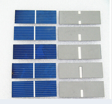 100pcs 52x19mm solar cell for DIY solar panel DIY cell phone charging Free shipping(China (Mainland))