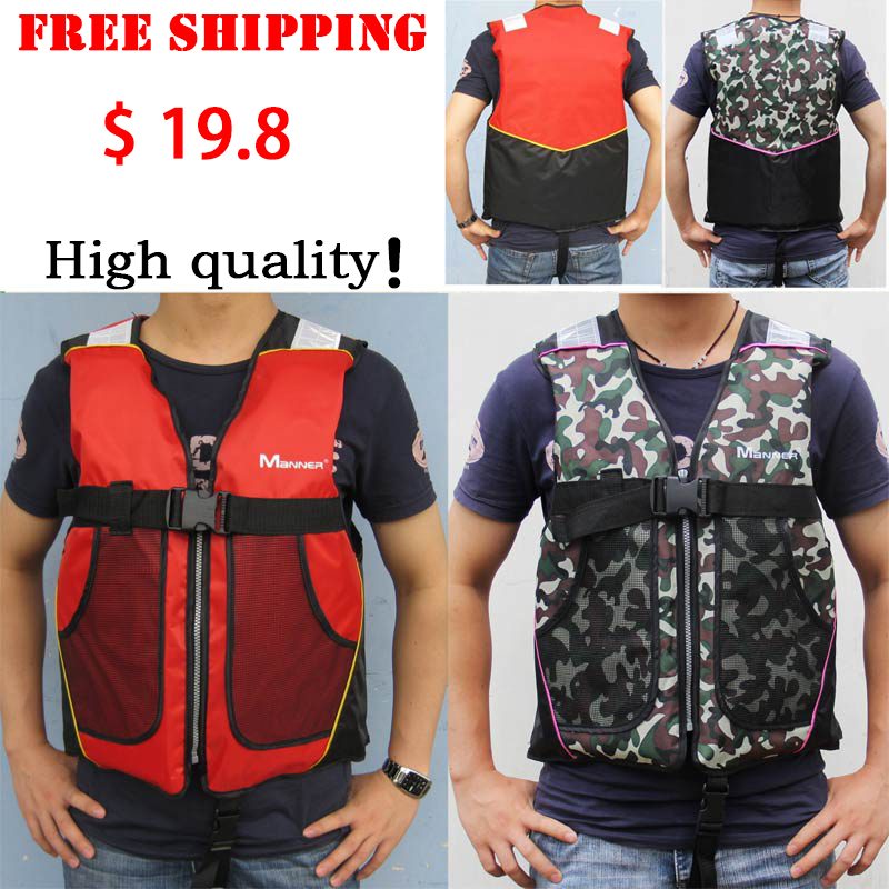 Swimwear And Swimming fishing Life Jacket Water Sport Survival Dedicated adult or child camouflage Life Vest jackets(China (Mainland))