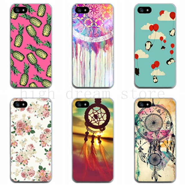 4 4s High Quality colorful patterns Case For Apple iphone 4 4s iphone4s 4G plastic Back Cover pc mobile phone Shell i4(China (Mainland))
