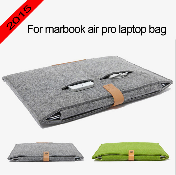 Computer Bag Laptop bags For MacBookPro Air 11 13 15 inch laptop protective sleeve 11.6 13.3 15.4 laptop bag(China (Mainland))