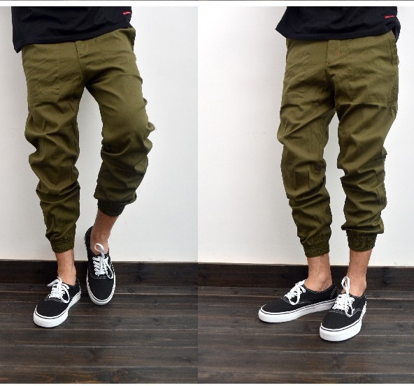 Fashion Men Casual Beach Pants fatigue cargo pants women