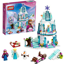 316pcs Dream Princess Elsa's Ice Castle Princess Anna Olaf Set Model Building Blocks Gifts Toys Compatible lepin Friends(China (Mainland))