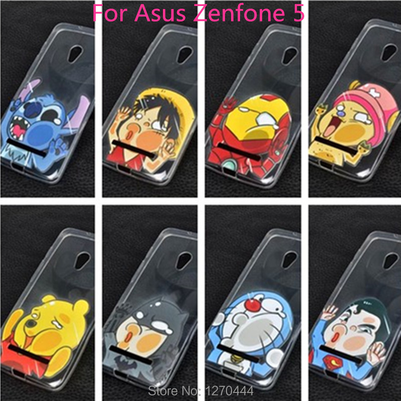 20 Lovely style Hot Selling for Asus Zenfone 5 Case Cover Colored Paiting Case Zenfone 5 mobile phone bags+Film(China (Mainland))