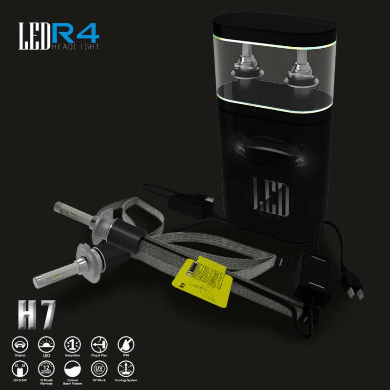 Car LED Headlight H1 H4 H7 9005 9006 H8 H9 H11 H13 HB3 HB4 9012 80w 9600lm CREE Bulbs Conversion Kit Styling Lamp(China (Mainland))