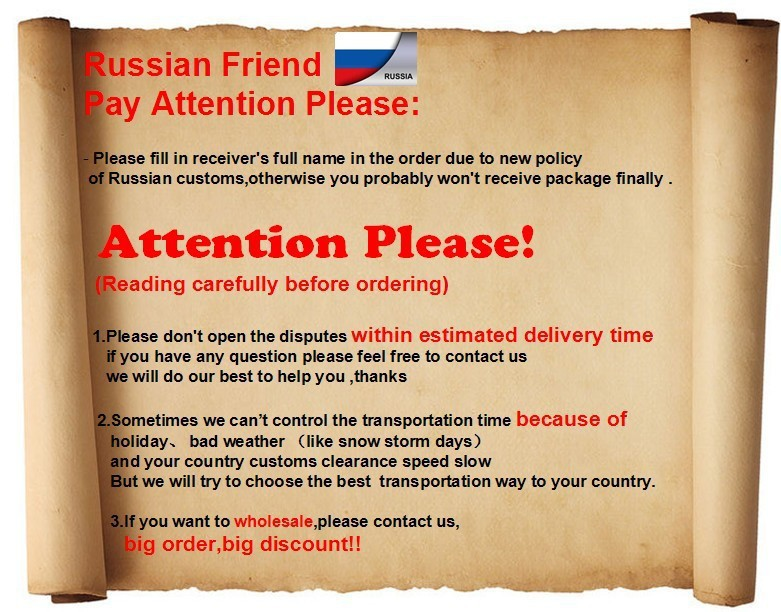Russian attention