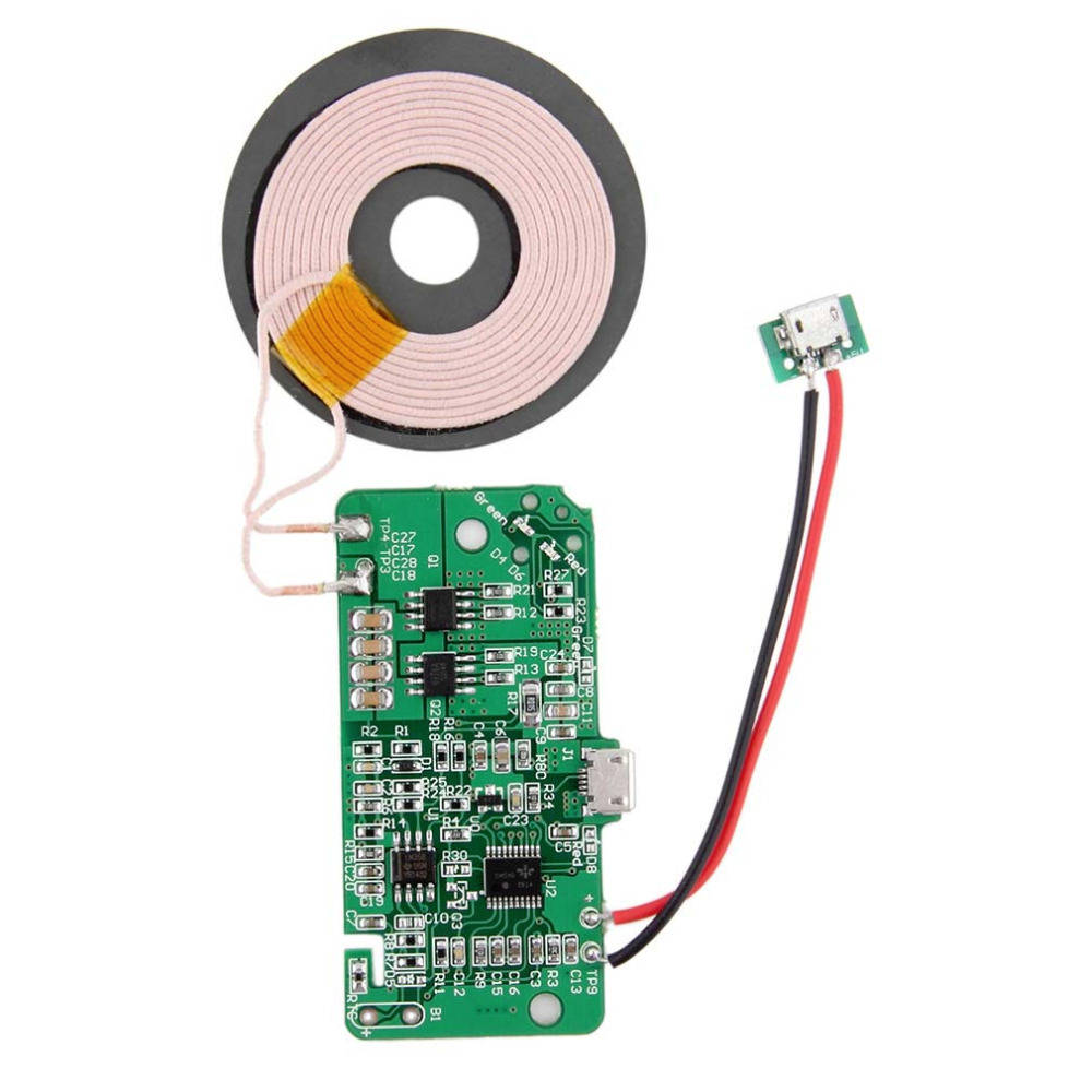 New Wireless Charging Accessories Qi Wireless Charger PCBA Circuit Board With Qi-Standard Coil DIY UQIP25 Wholesale