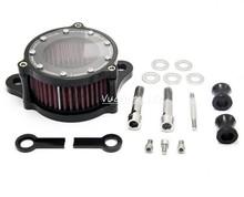 CNC Air Cleaner Intake Filter For Harley Davidson Sportster 883 1200 2004 2005 2006 2007 2008 2009 2010 2011 2012 2013 2014