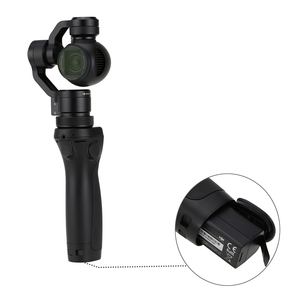 Free Gifts DJI OSMO Handheld 4K Camera With DJI FM-15 Flexi Microphone Stabilizer Original phantom 3 3-Axis Gimbal DHL EMS Free