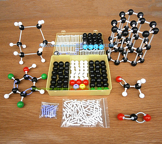 new Molecular structure model for High school students and teachers and simple Graphite crystal model DLS-23227 free shipping(China (Mainland))