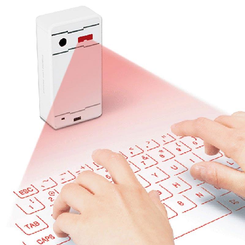Virtual laser projection wireless bluetooth keyboard mini for Ipad pro projector