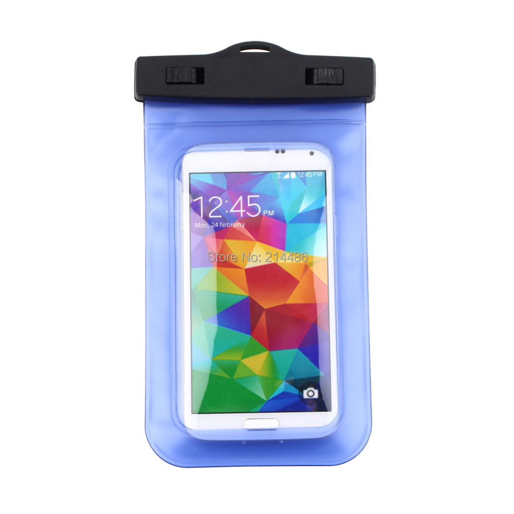 Dry Pouch Bag Case Cover Waterproof Bag Underwater For All Cell Phone PDA Wholesale(China (Mainland))