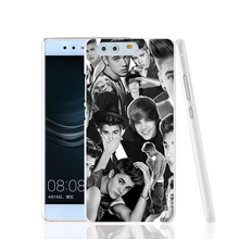 18245 JUSTIN BIEBER BW COLLAGE cell phone Cover Case huawei Ascend P7 P8 P9 lite Maimang G8 - ShenZhen DHSD Co.,Ltd store