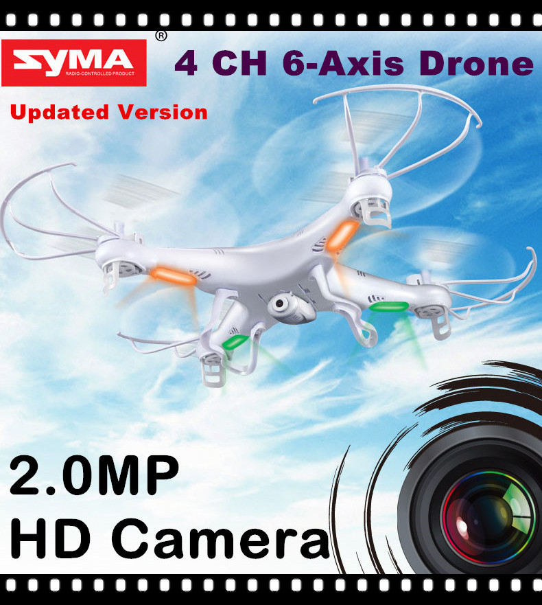 RC Drone With HD Camera SYMA X5C-1 (X5C Upgraded Version) 2.4G 4CH 6-Axis RC Helicopter Quadcopter Ar.Drone(China (Mainland))