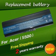 Laptop Battery BT.00604.012 BT.00903.007 LC.BTP00.002 LC.BTP01.006 LIP6220QUPC SY6 3UR18650Y-2-QC261 3UR18650F-3-QC262 For Acer