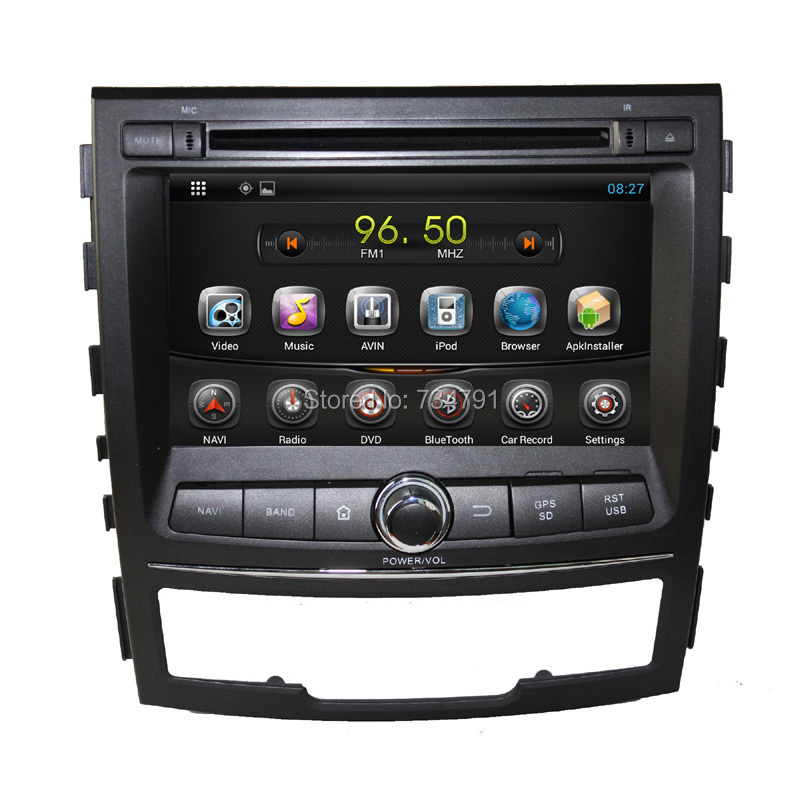 Orignal Ssangyong Korando android 4.2 Car DVD GPS Navigation Wifi 3G Bluetooth Radio TV USB SD IPOD Steering Wheel OBD(China (Mainland))
