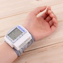 Digital LCD Wrist Blood Pressure Monitor With Heart Beat/Rate/Pulse
