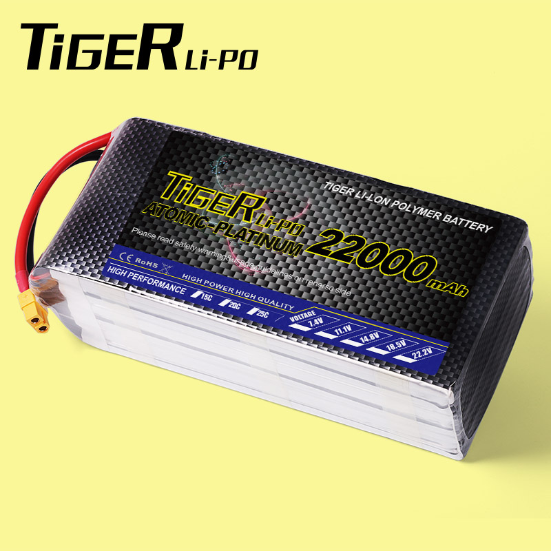 6S lipo bateria 22000mah 22.2v 25C LIPO battery for RC helicopter quadcopter drones with best price from China alibaba supplier(China (Mainland))