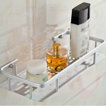 Kitchen Bath Fixtures Accessories Product Metal Wall Bathroom Shelf Rack Shelves 300*140*50MM bathroom accessories double brush(China (Mainland))