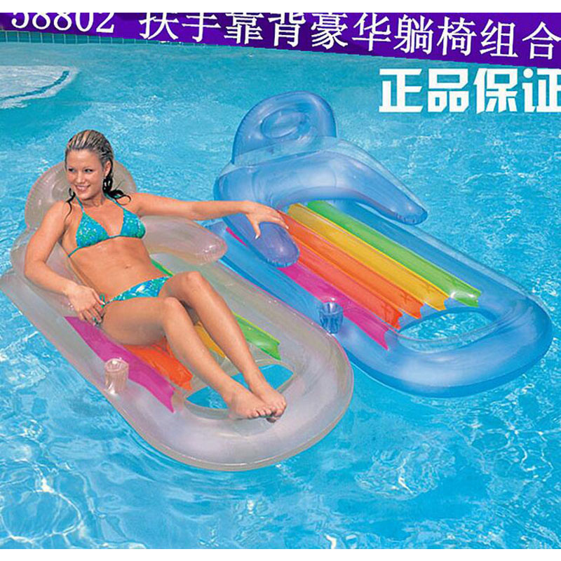 Adult Kids Board Float Bed Air Mattress Inflatable Pool Buoy Swimming Water Boat Kickboard Beach Mat Inflatable bed /safa KQ-32(China (Mainland))