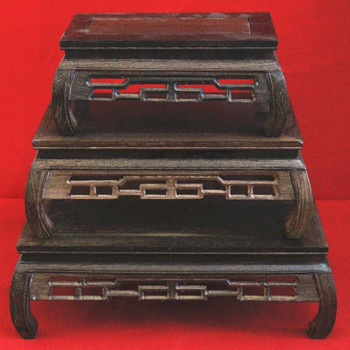 Wenge trays antique sculpture exquisite decorative pattern trays wenge decoration chicken wing wood furniture