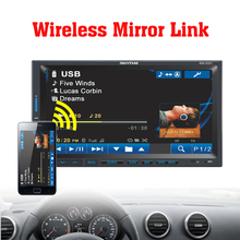 """Wireless Mirror Link Car 2DIN 7"""" Support Rear Camera Car Stereo MP4 5 Player 12V Audio Bluetooth/hands free/USB/Remote Control(China (Mainland))"""