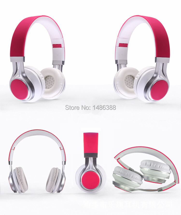 NEW 3 5mm Wired Headphones Earphone Earbuds Stereo Foldable Headset with Mic Microphone for iPhone Samsung