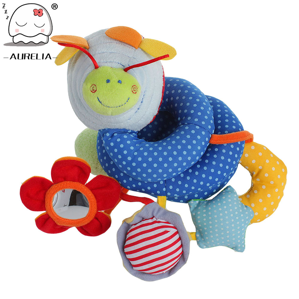 Infant Baby Toys Baby Crib Revolves Around The Bed Stroller Playing Toy Car Lathe Hanging Baby Rattles Mobile 0-12 Months(China (Mainland))