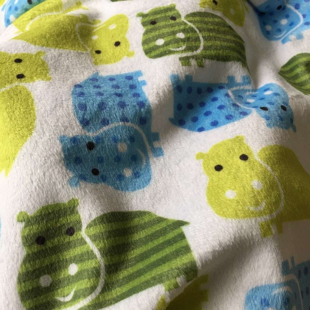 New minky print fabric 20 designs cute pattern for baby for Cute baby fabric prints