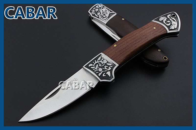 Cabar 2015 New Arrival 80 mm Single Blade Hunting Camping Diving Outdoor Knife Top Quality Fold