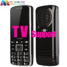 ТЕЛЕВИЗОР Поддержка! 3D Звук! Большой Батареи Оригинал FORME Телефон TV FM Dual SIM Разблокирована Сотовый Телефон Мобильный Телефон (лучше, чем mafam)(China (Mainland))