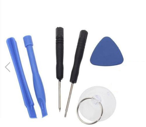 6 in 1 Opening Tools Screwdriver Repair Moble Phone Disassemble Kit Set for Apple iPhone 4 4S 5 6(China (Mainland))