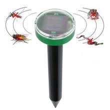 Solar Power Eco-Friendly Ultrasonic Mosquitos Pest Balcony Reject Control(China (Mainland))