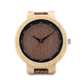 Antique Quartz Watches Men luxury Brand Wooden Watch Special Digital Ring with Grain Leather Relogio Masculino
