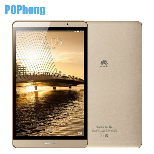 Оригинал HUAWEI MEDIAPAD M2 4G LTE Tablet PC 32 ГБ ROM Kirin930 Окта основные Android 5.1 3 Г RAM 8.0 дюймов 1920X1200