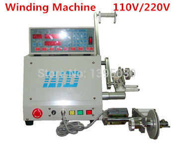 2014 high quality free shipping by DHL New Computer C Automatic Coil Winder Winding Machine for 0.03-1.2mm wire 110V/220V(China (Mainland))